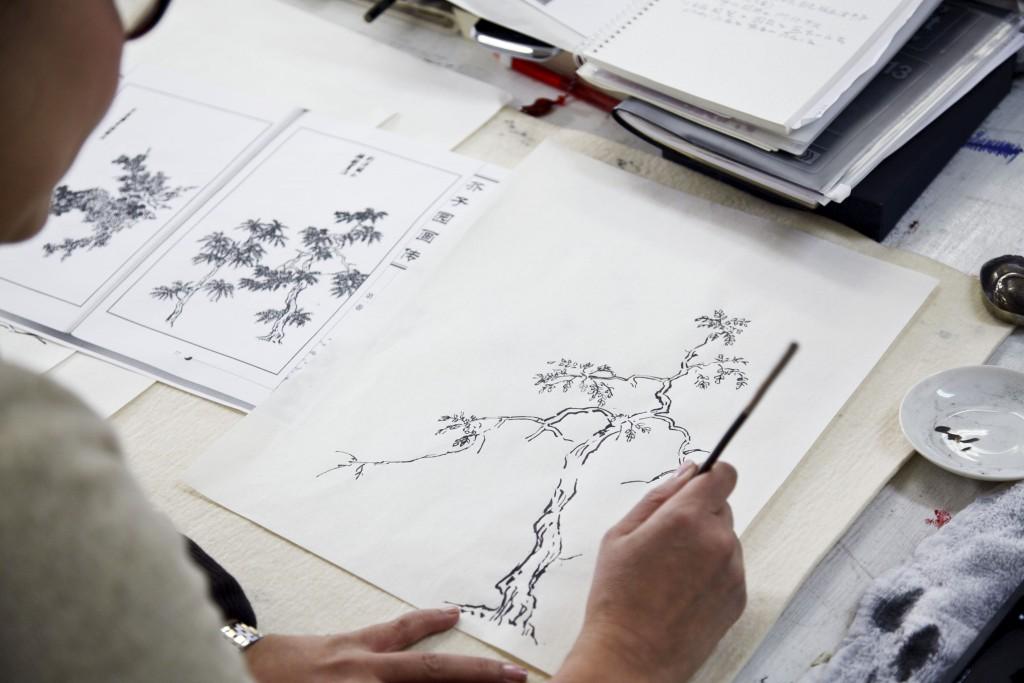 日本画講座「超日本画ゼミ」