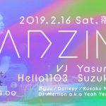 【2/16】Tonight, Tonight @落合Soup