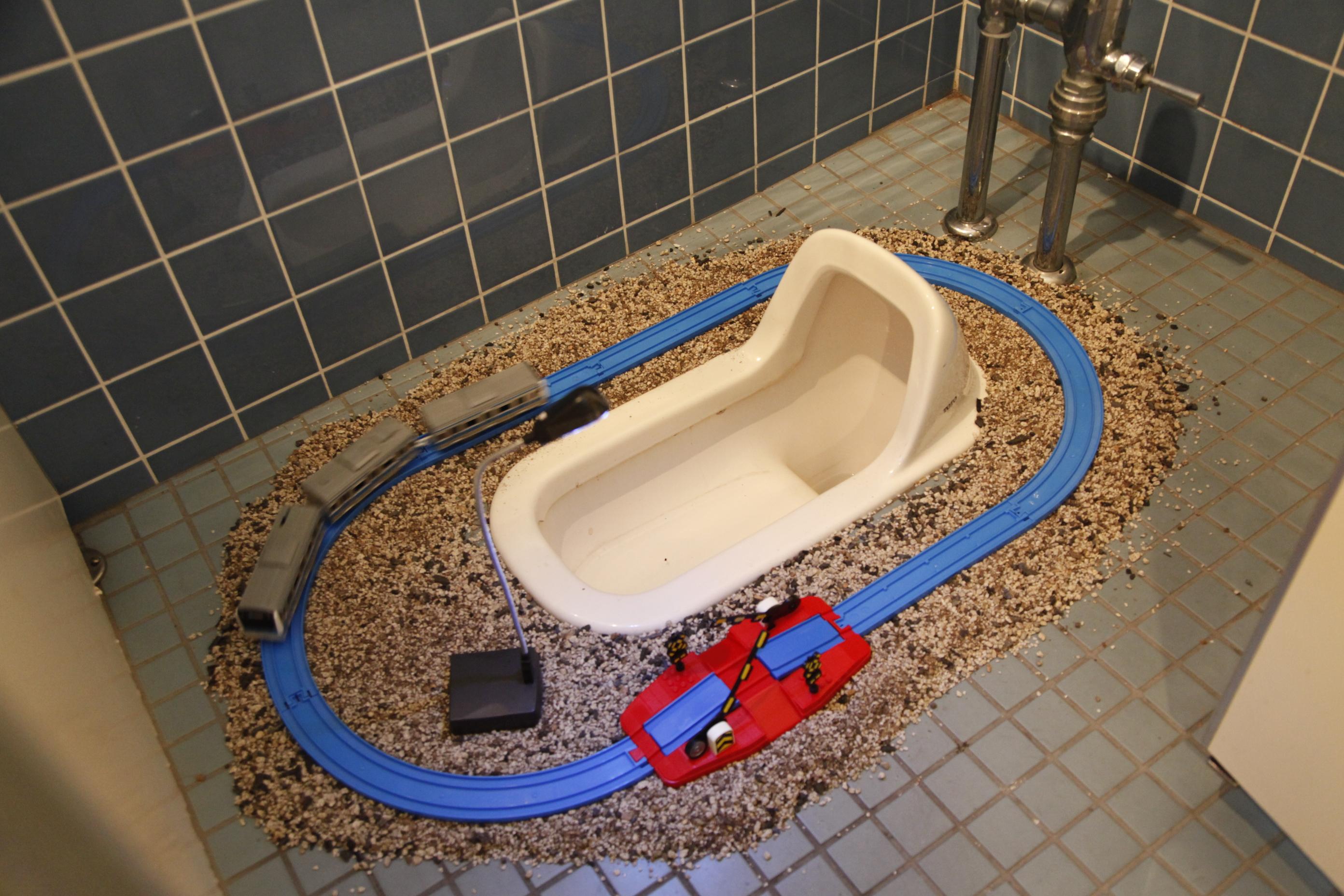 田田野『電車』