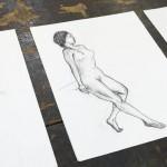 【11/12、12/11】デッサン会「老醜を描く」