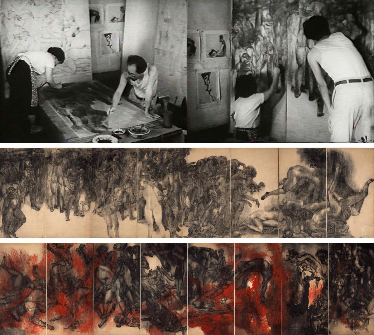 「《原爆の図》という絵画実験」